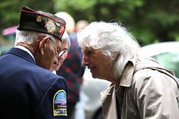 We support our aging Veterans