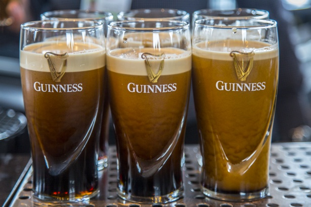 Learn how they make Guinness at the Sorehouse Factory