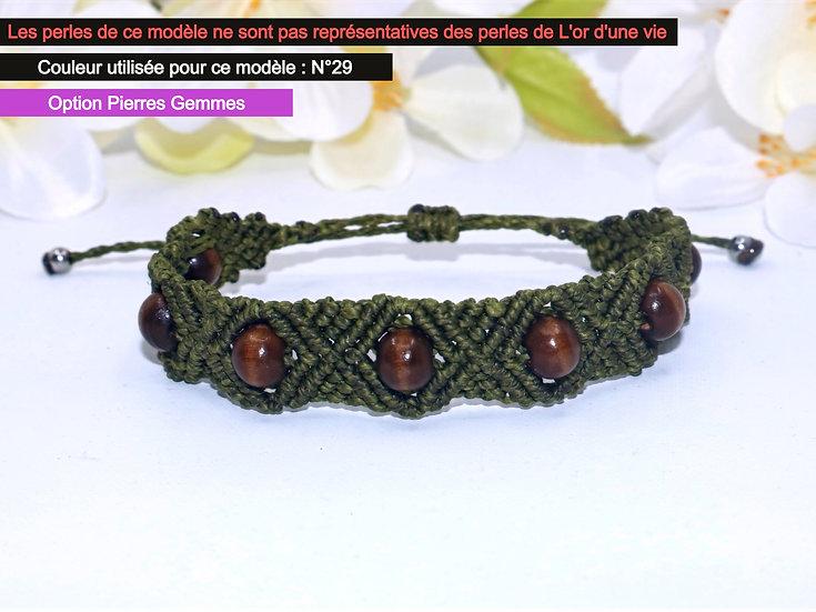 """Bracelet """"AÏKO"""" - Au fil d'un Vœu"""