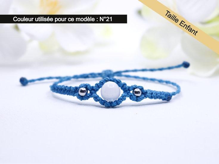 """Bracelet Enfant  """"TILIA"""" - Au fil d'un Vœu"""