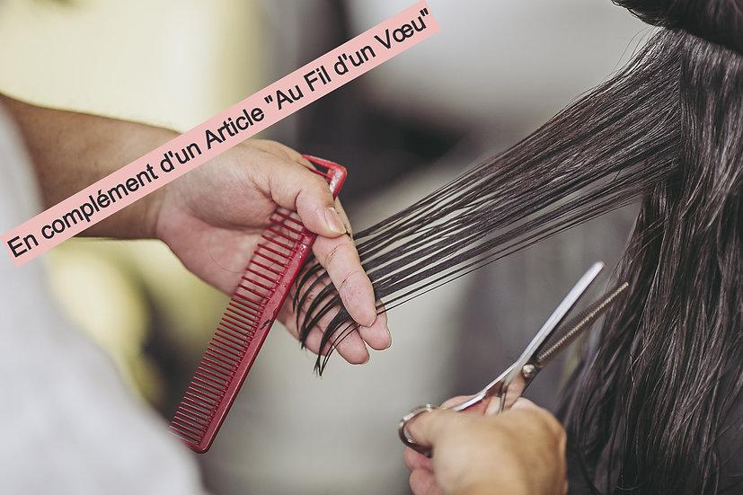 """Insérez une mèche de cheveux - """"Au Fil d'un Vœu"""""""