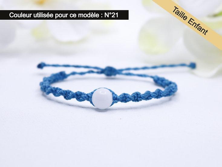 """Bracelet Enfant """"LUCIO"""" - Au fil d'un Vœu"""