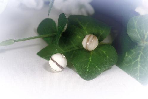 Perle 12 mm  Lait maternel solidifié pour bracelet Charme