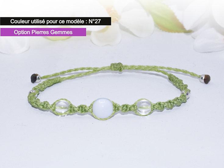 "Bracelet ""OLGA"" - Au fil d'un Vœu"