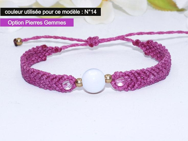 """Bracelet """"FÉLI"""" - Au fil d'un Vœu"""