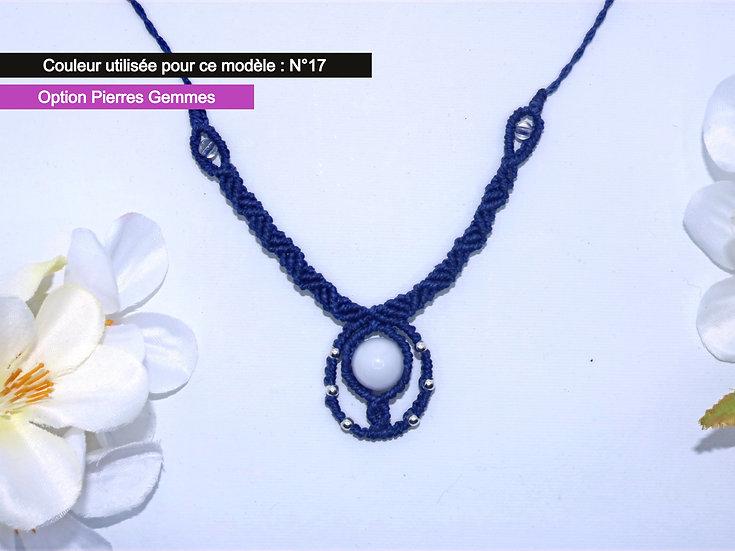 "Collier ""CLEO"" - Au fil d'un Vœu"