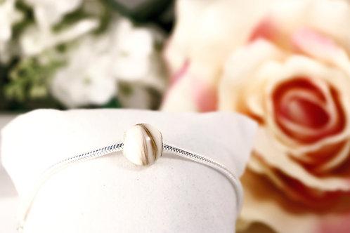 Bracelet Charme Lait maternel solidifié