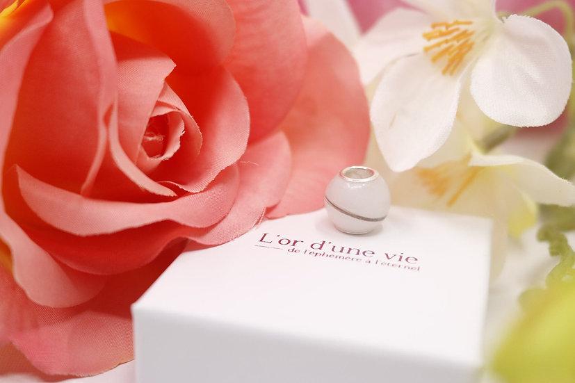 Perle Charme 12 mm Adaptable Pandora - Lait Maternel