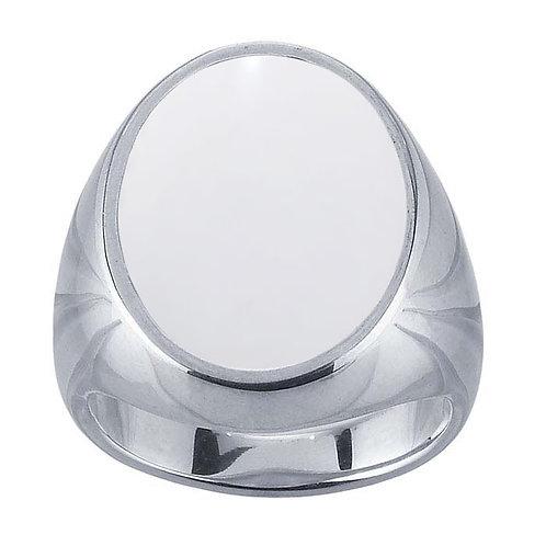 Chevalière ovale Lait Maternel Solidifié