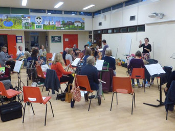 Thank you, Godstone Village School!  We  have a spacious new rehearsal venue.