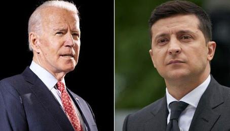 Владимир Зеленский и Джо Байден обсудили развитие демократии