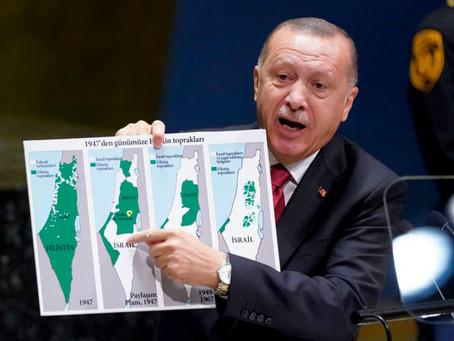 "Эрдоган: ""Израиль – враг ислама"""