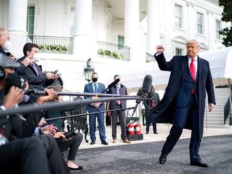 «Выборы еще далеко не завершены»: Дональд Трамп отреагировал на провозглашение победы Байдена