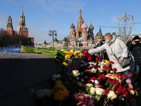 В годовщину убийства Бориса Немцова его память почтили