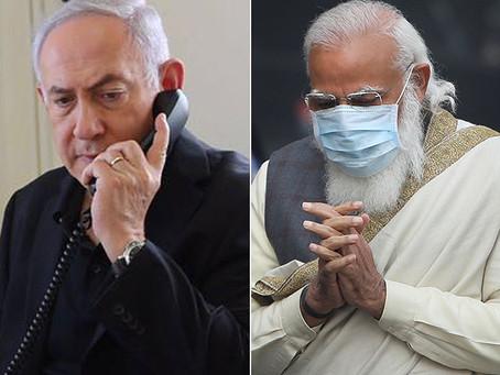 Нетаниягу поблагодарил Моди за заботу о безопасности израильтян