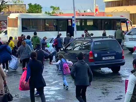 Армяне покидают Карабах: последний подожжёт всё