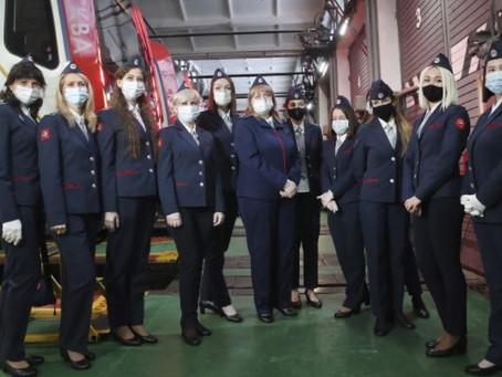 Женщины впервые стали машинистами московского метро