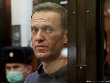 Алексей Навальный доставлен в колонию в Покров