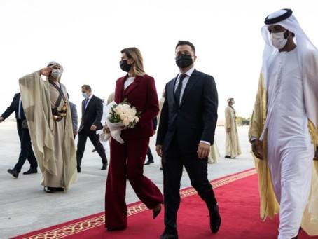 Зеленский о визите в ОАЭ