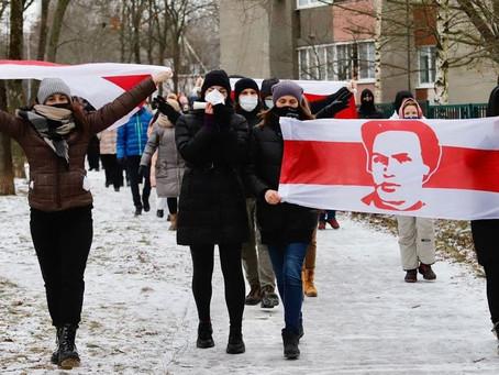 В Белоруссии прошли первые в этом году акции