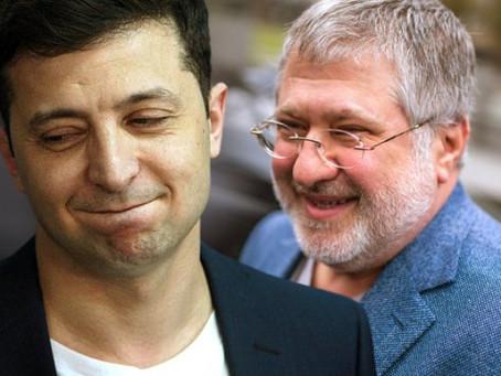 Зеленский поддержал санкции США против Коломойского