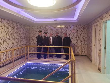 Полиция в гостях в «Ор-Натан Браервуд»