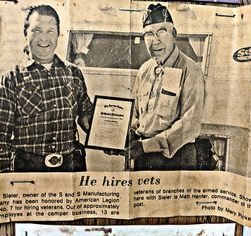Elmer 'Mic' Sieler - Original owner and founded of S&S Campers