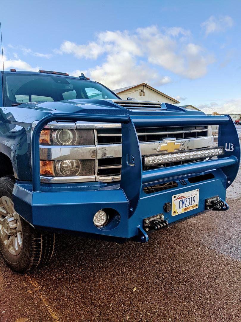 Custom Painted Ultimate bumper