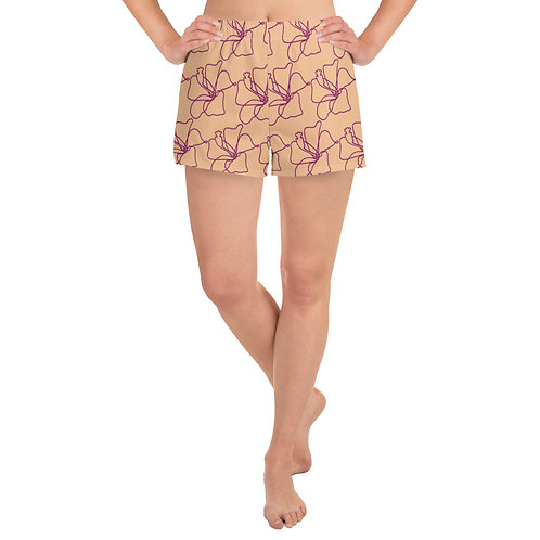 All-Over Print Women's Athletic Shorts