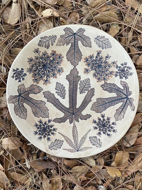 Fractal Fig Fantasy Plate
