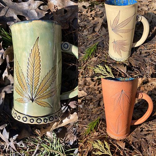 Magical Oregon Leaf Mugs