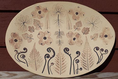 Premium Dogwood Platter