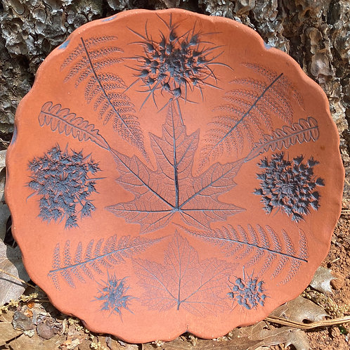 Maple Sandstone Queen Annes Lace Plate