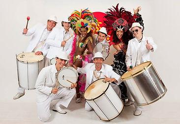 Samba Otimo avec Danseuses - Batucada -