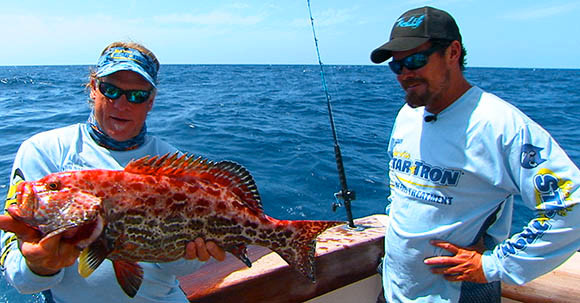 Fishing with Capt Chris Trosset on the Star brite