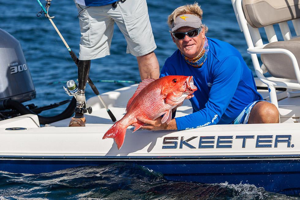 Red Snapper fishing in Destin