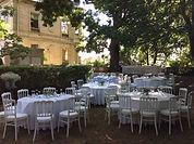 Déjeuner dans le parc du Château de Précy
