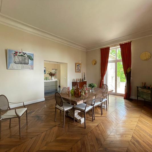 Salle à manger du Château de Précy