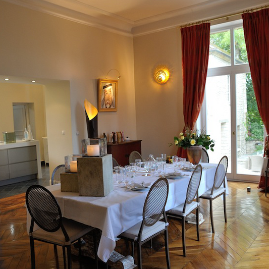 Repas d'affaire au Château de Précy