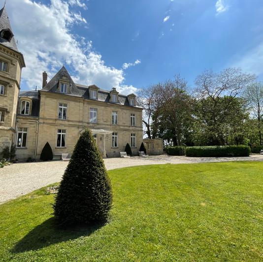 Château de Précy côté Parc