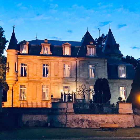 Château de Précy de nuit