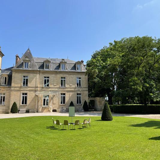 Atelier de travail Château de Précy