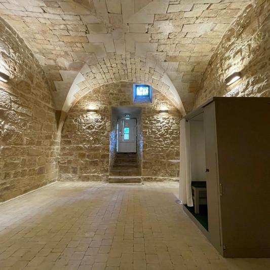 Salle voutée photobooth Château de Précy