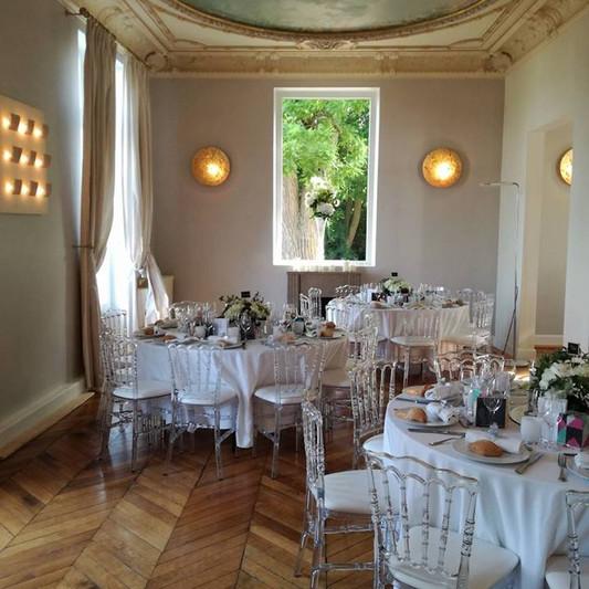 Double Salon d'honneur Château de Précy