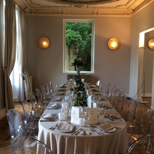 Salon d'honneur Château de Précy