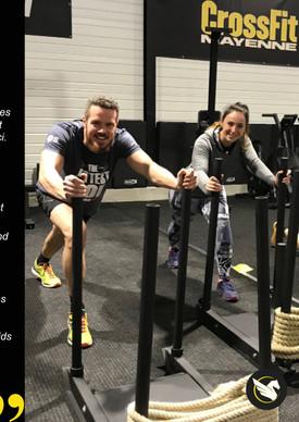 CrossFit témoignages Delphine Flo