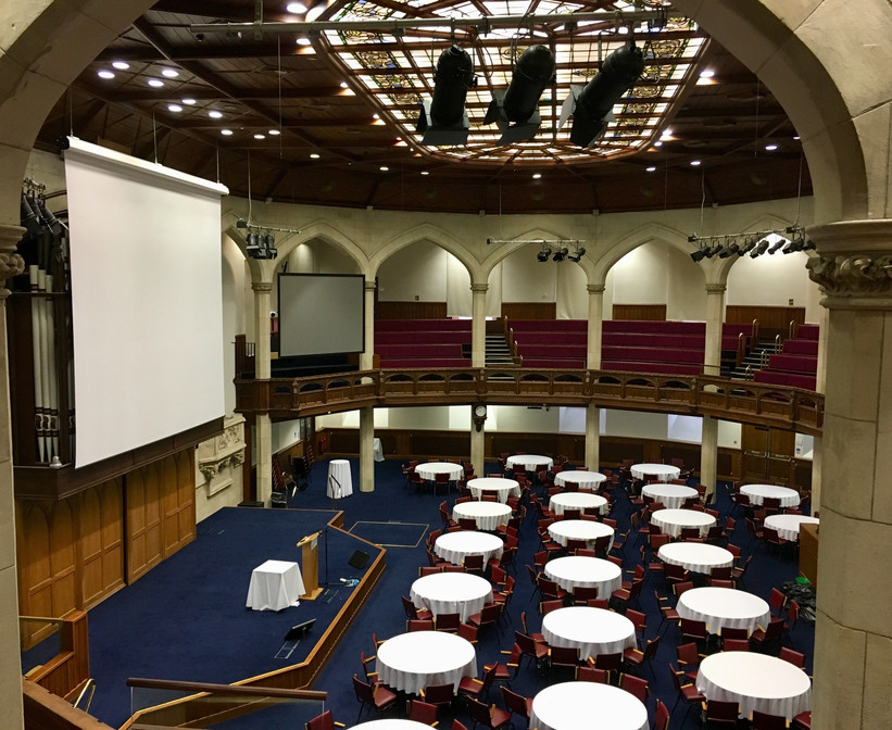 Assembly Hall Cabaret Style