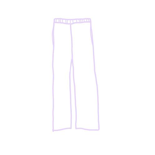 The wear it alone-corona pants