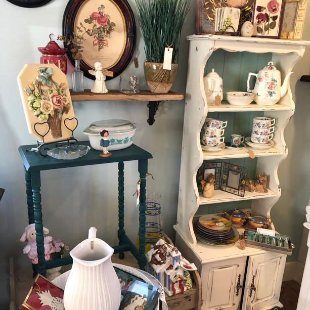 Hutch With Shelves