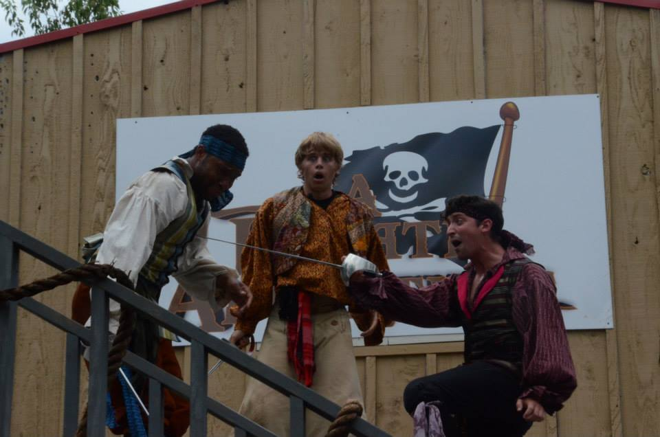 """A Pirate Adventure"" Stunt Show"